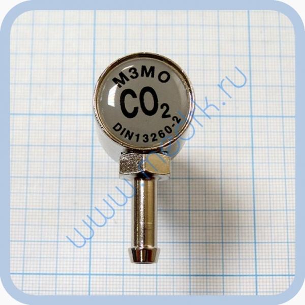 Соединение быстросъемное консоль КПМ-АМС-НГС-1 (клапан газовый на углекислый газ со штекером стандарта DIN)  Вид 6