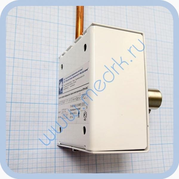 Соединение быстросъемное консоль КПМ-АМС-НГС-1 (клапан газовый на углекислый газ со штекером стандарта DIN)  Вид 8