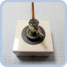 Соединение быстросъемное консоль КПМ-АМС-НГС-1 (клапан газовый на углекислый газ со штекером стандарта DIN)
