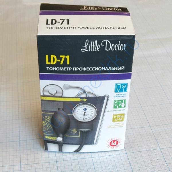 Тонометр LD-71 механический со стетоскопом  Вид 2