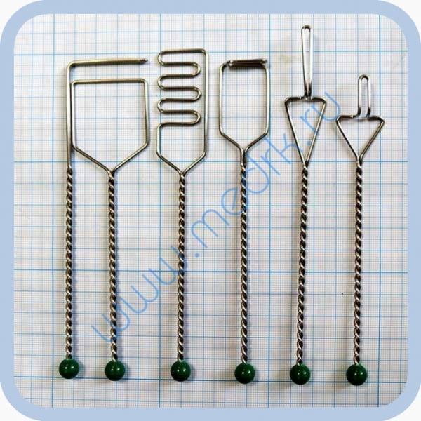 Постановочные логопедические зонды ПК-21 комплект из 7 штук (