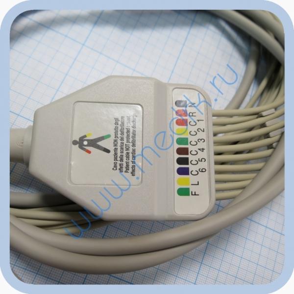 Кабель для ЭКГ Cardisuny C120 (F6252R) Fiab   Вид 5