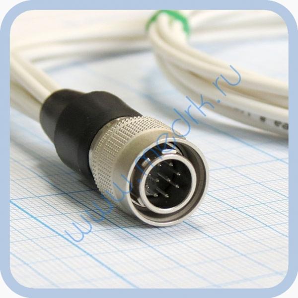 Кабель для подключения одноразовых ЭКГ-электродов на 3 отведения 7 электродов для аппарата Кардиотехника  Вид 4
