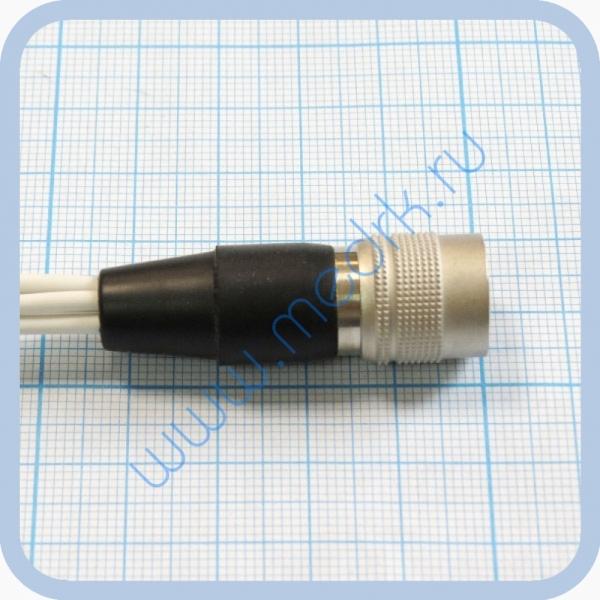 Кабель для подключения одноразовых ЭКГ-электродов на 3 отведения 5 электродов  Вид 2