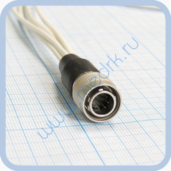 Кабель для подключения одноразовых ЭКГ-электродов на 3 отведения 5 электродов  Вид 4