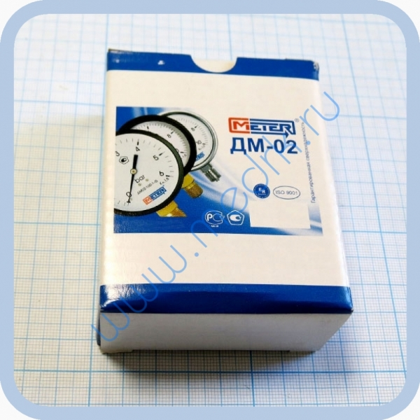 Манометр ДМ02-063-1-М кл. 1.5 (0..40 кгс/см2)  Вид 1