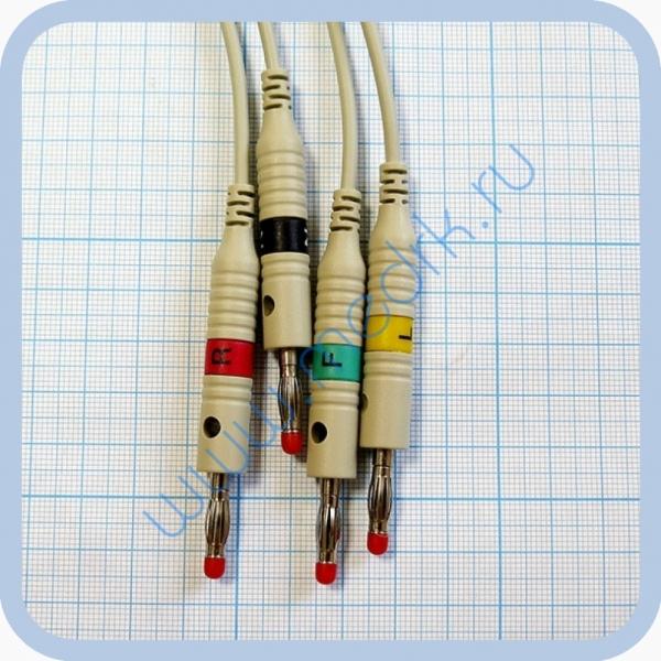 Кабель Fiab F8726R для ЭКГ  Вид 1
