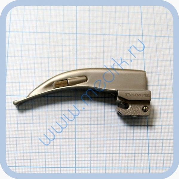 Клинок ларингоскопический KaWe «Макинтош» №1 изогнутый  Вид 1