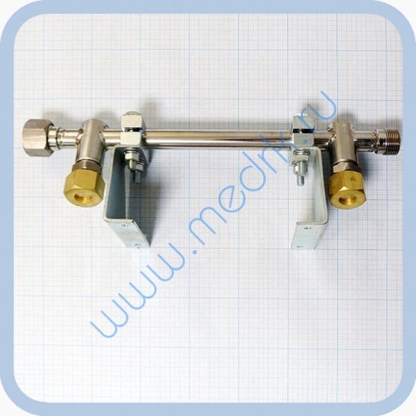 Коллектор рамповый КР-02-02 коррозионностойкий (два клапана)