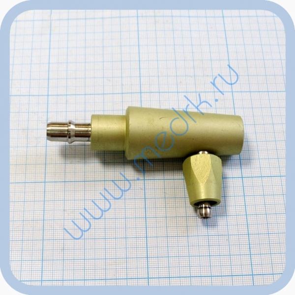 Штекер газовый угловой (на закись азота) для быстроразъемных соединений  Вид 1