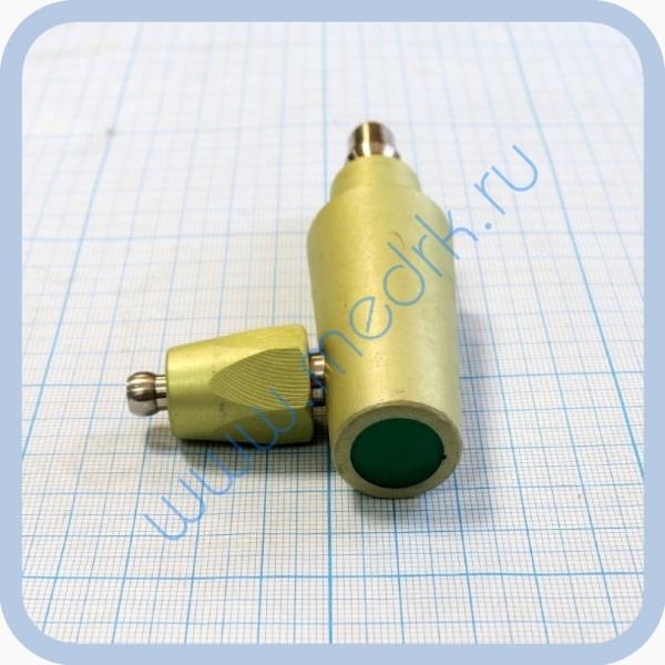 Штекер газовый угловой (на закись азота) для быстроразъемных соединений  Вид 2