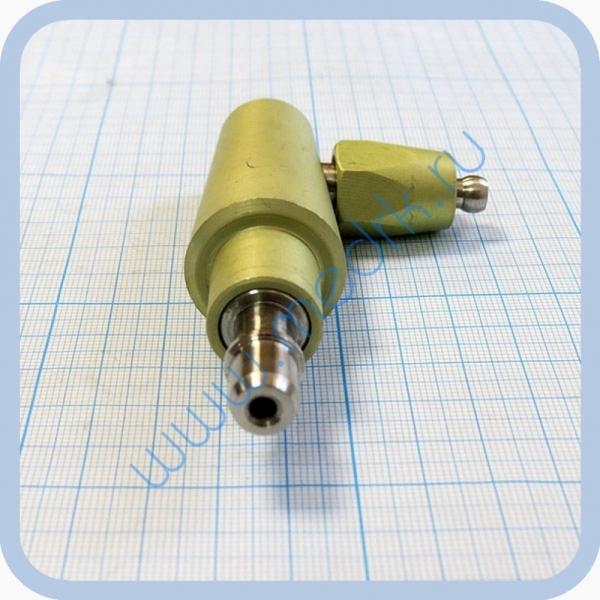 Штекер газовый угловой (на закись азота) для быстроразъемных соединений  Вид 3