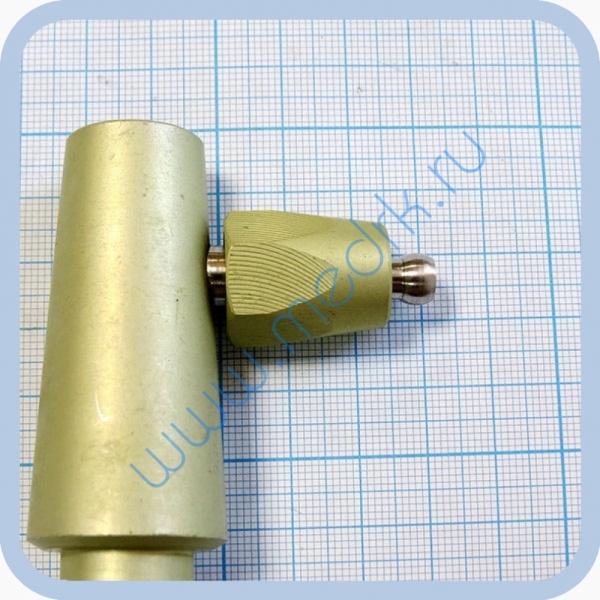 Штекер газовый угловой (на закись азота) для быстроразъемных соединений  Вид 5