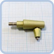 Штекер газовый угловой (на закись азота) для быстроразъемных соединений
