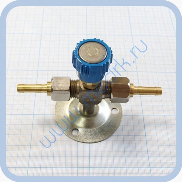 Клапан запорный К-1110-16 с ниппелем под шланг   Вид 1