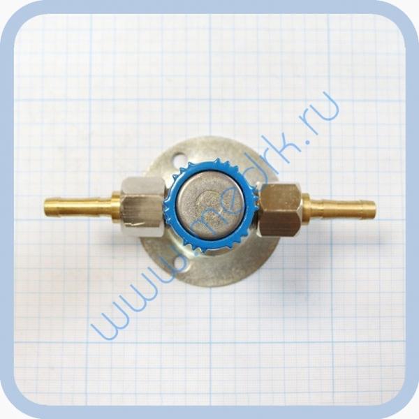 Клапан запорный К-1110-16 с ниппелем под шланг   Вид 2