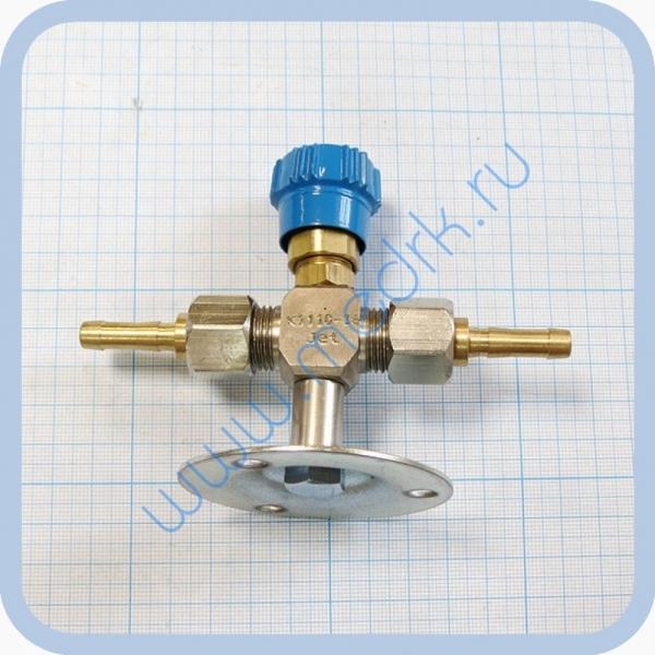Клапан запорный К-1110-16 с ниппелем под шланг   Вид 3