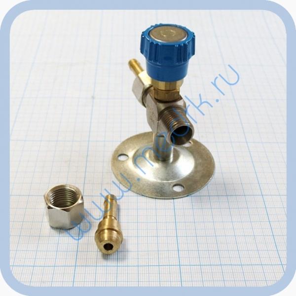 Клапан запорный К-1110-16 с ниппелем под шланг   Вид 5