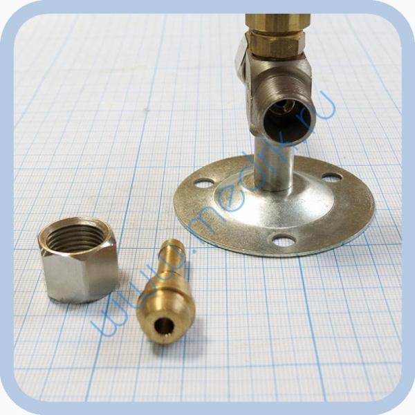 Клапан запорный К-1110-16 с ниппелем под шланг   Вид 6