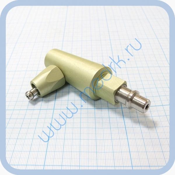 Штекер угловой газовый (сжатый воздух) для быстроразъемных соединений  Вид 2