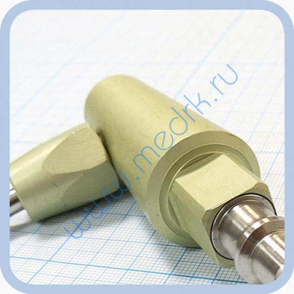 Штекер угловой газовый (сжатый воздух) для быстроразъемных соединений  Вид 3