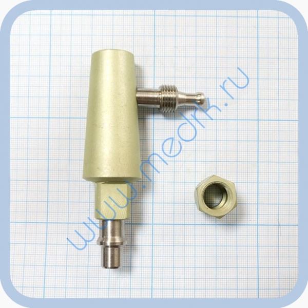 Штекер угловой газовый (сжатый воздух) для быстроразъемных соединений  Вид 7