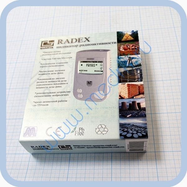 Дозиметр-радиометр Радэкс РД-1503+  Вид 2
