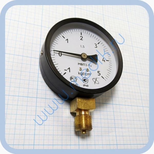 Мановакуумметр МВП3-Уф (-100...0...500) кПа, IP40, радиальный штуцер М20х1,5