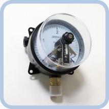 Манометр ДМ-2010-Ф (0-4) показывающий сигнализирующий