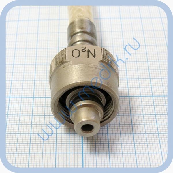Шланг армированный для закиси азота с гайками М22х1,5мм  Вид 3