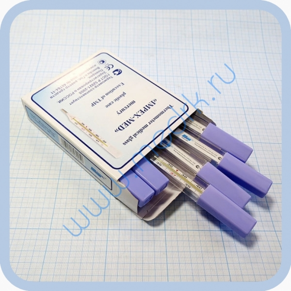 Термометр (градусник) ртутный медицинский  Вид 2