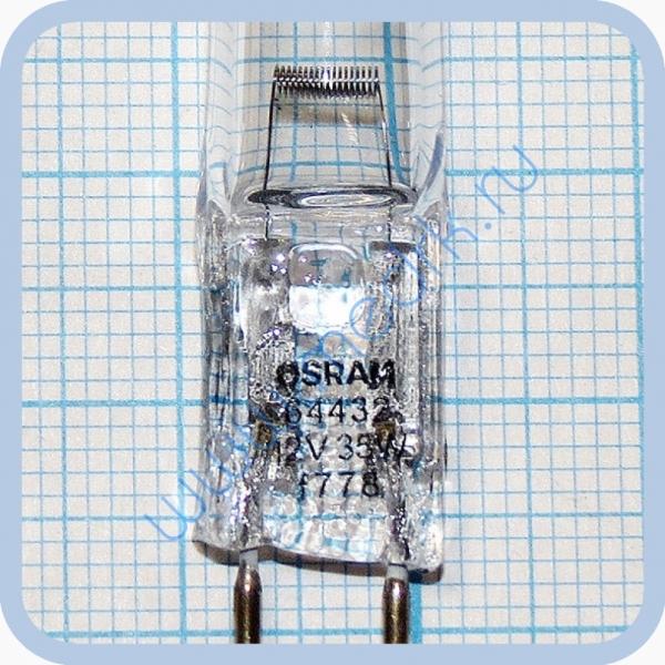 Лампа галогеновая Osram Halostar 64432 12V 35W GY6,35  Вид 7