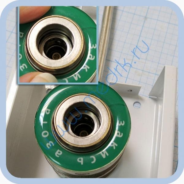 Система клапанная быстроразъемная СКБ-1 (закись азота) стандарт DIN  Вид 9