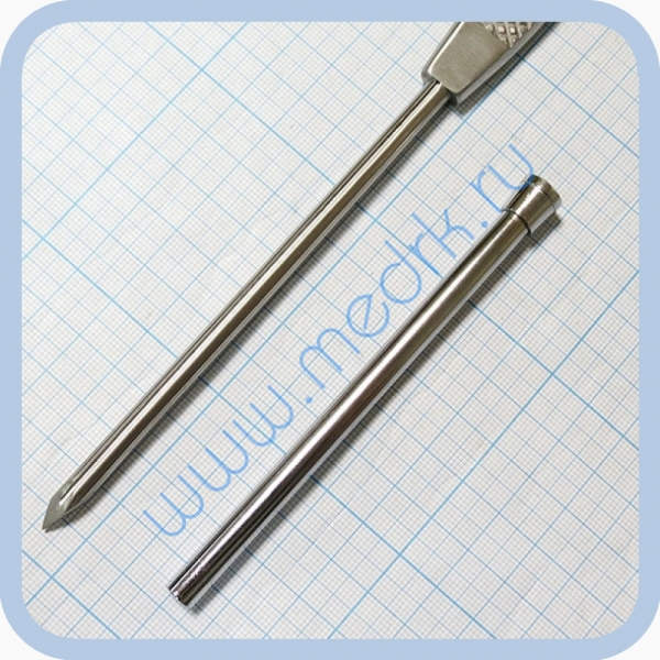 Троакар полостной, 6 мм J-14-006 (Surgicon)  Вид 7