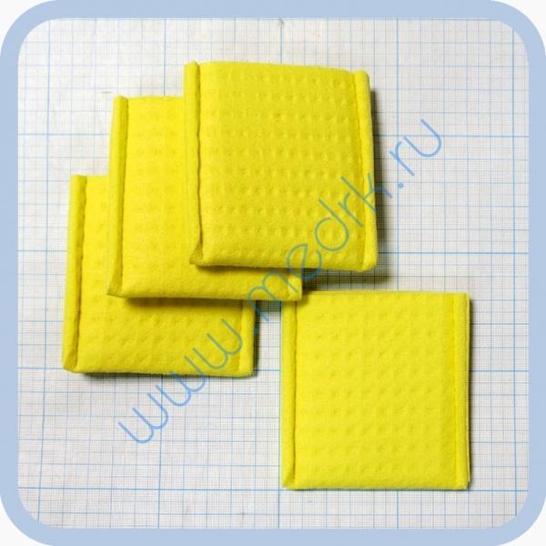 Прокладки для электродов (4х6см) для аппаратов электроультразвуковой терапии  Вид 1