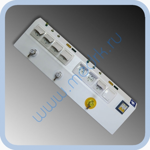 Консоль для подвода медицинских газов и электропитания КПМ-АМС-НР