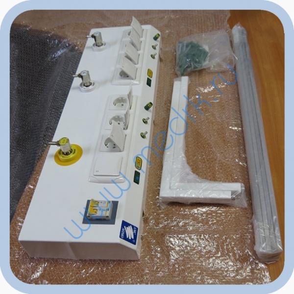 Консоль для подвода медицинских газов и электропитания КПМ-АМС-НР  Вид 1
