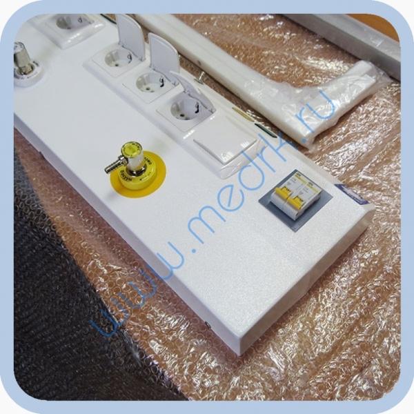 Консоль для подвода медицинских газов и электропитания КПМ-АМС-НР  Вид 2
