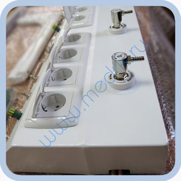 Консоль для подвода медицинских газов и электропитания КПМ-АМС-НР  Вид 4