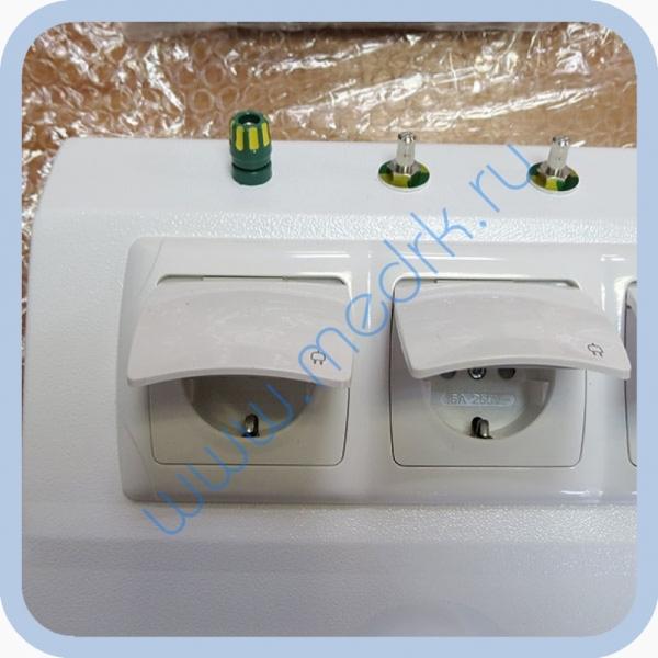 Консоль для подвода медицинских газов и электропитания КПМ-АМС-НР  Вид 6