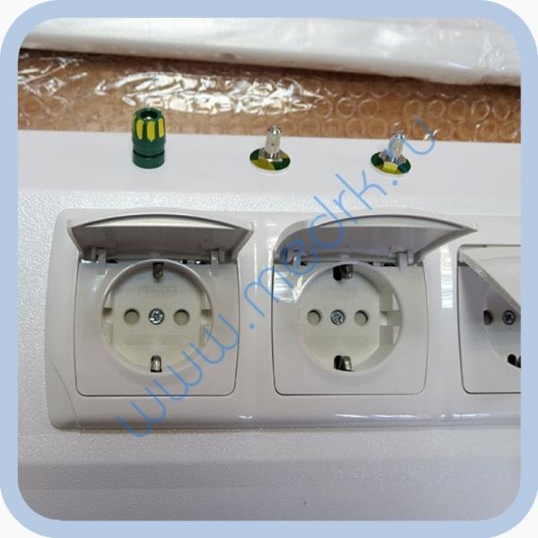 Консоль для подвода медицинских газов и электропитания КПМ-АМС-НР  Вид 7