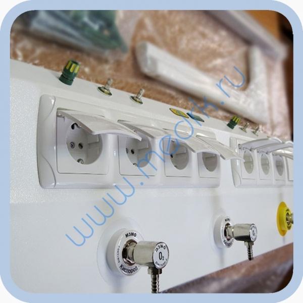 Консоль для подвода медицинских газов и электропитания КПМ-АМС-НР  Вид 8