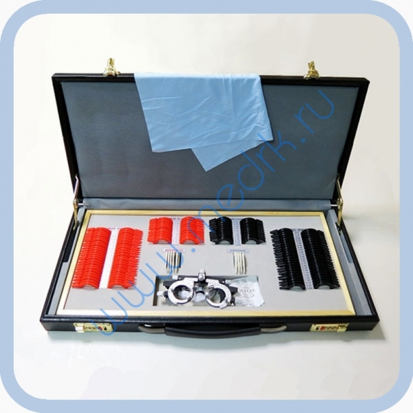 Набор пробных очковых линз малый (158 шт.)  Вид 1