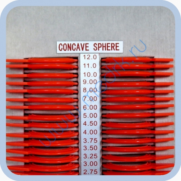 Набор пробных очковых линз малый (158 шт.)  Вид 14