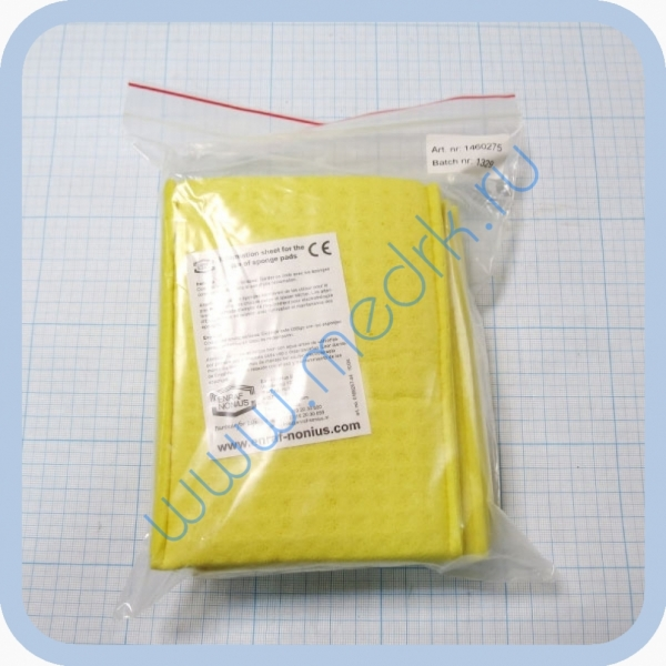 Прокладки увлажняемые 1460.275 для электродов (8х12см, 4 шт.) для аппарата Миомед-932  Вид 2