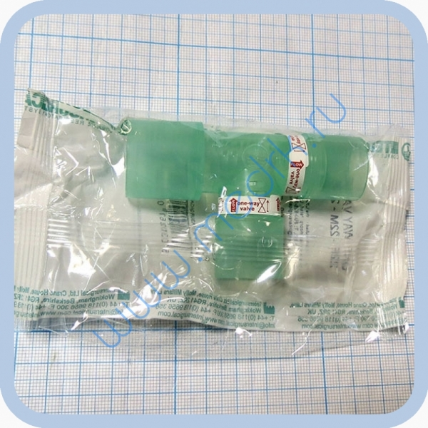 Клапан-тройник для масок к галоингалятору ГИСА-01 Галонеб  Вид 5