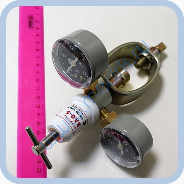 Редуктор для газопламенной обработки БАО-5 (ацетилен)  Вид 2