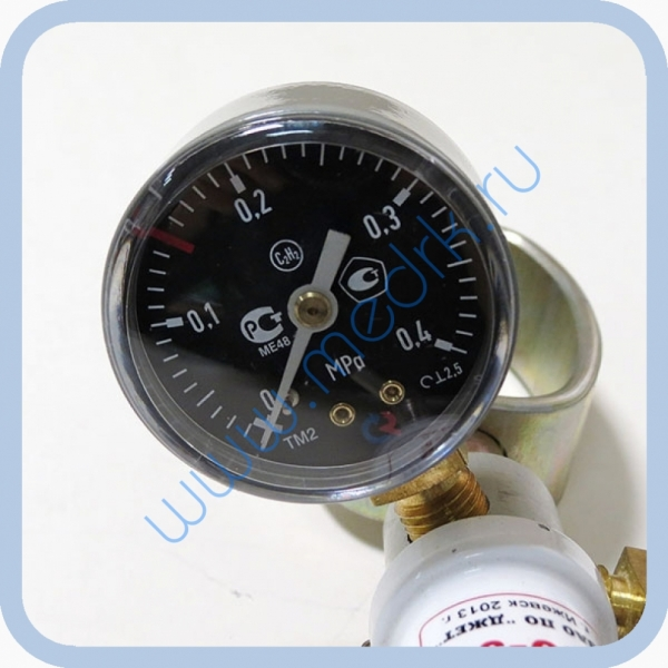 Редуктор для газопламенной обработки БАО-5 (ацетилен)  Вид 10
