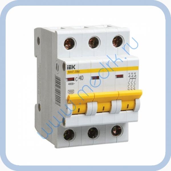 Выключатель автоматический ИЭК ВА47-29 40А 3П  Вид 1