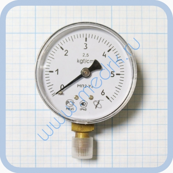 Манометр МП2 УФ х 6 кгс/см2  Вид 1